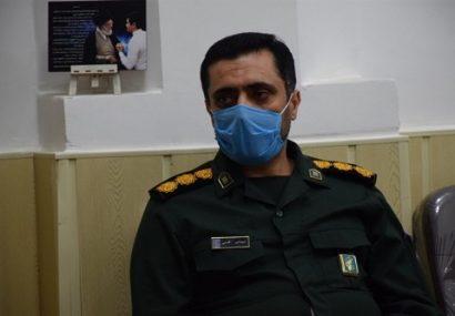 سپاه و بسیج همراه با کادر درمان در حال جهاد هستند