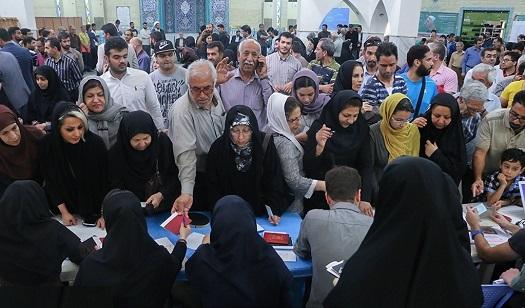 ۳۰۰ هزار نفر از مردم گیلان تا این لحظه پای صندوقهای رأی حاضر شدند