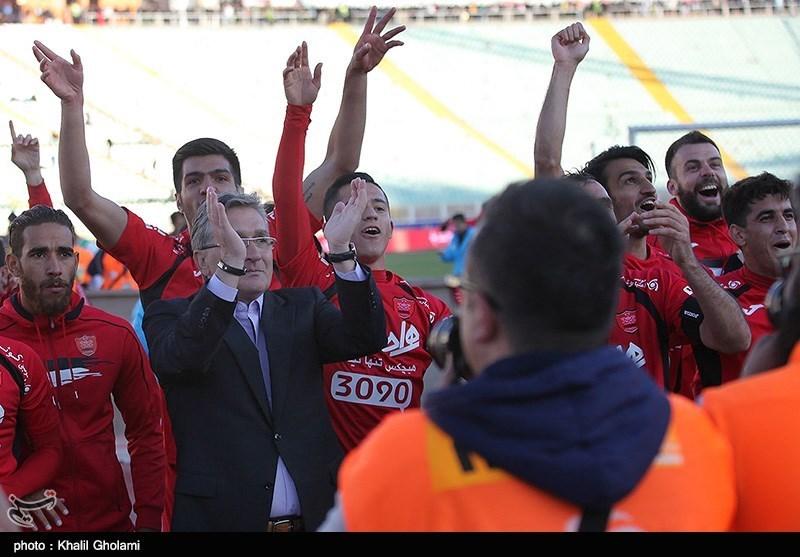 پرسپولیسِ برانکو، نخستین تیمی که دربی را باخت و قهرمان شد