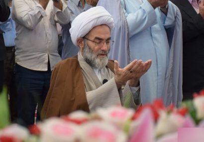 اقامه نماز عید سعید قربان در مصلای رشت